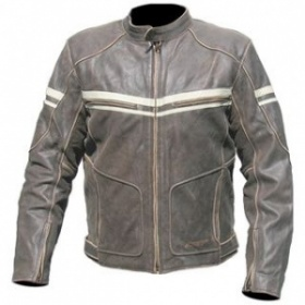 RST 1227 Roadster Leather Jacket Brown