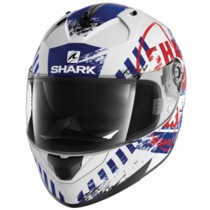 Shark Ridill SKYD WBR - White/Red/Blue