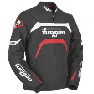 Furygan Arrow Textile Jacket - Black/Red