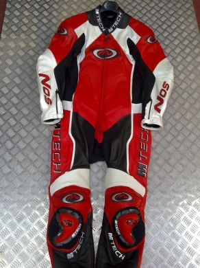 M Tec 1 Pc Suit RedWhite