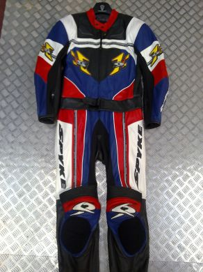 Spyke 2pc Suit Blue red yellow