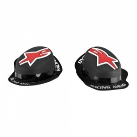 Gp Rain Knee Slider - Black/Red