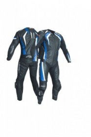 RST R-18 CE One Piece Leather Suit - Blue