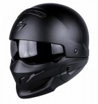 Scorpion EXO Combat Motorcycle Helmet - Matt Black