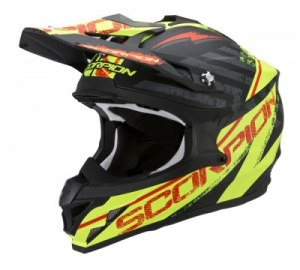 Scorpion VX-15 Gamma - Black/Yellow