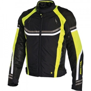 Richa Air Stream Jacket - Blk/Fluo