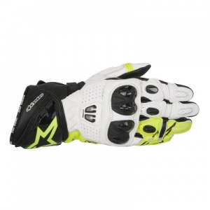 Alpinestars GP Pro R2 Glove - Black White Fluo