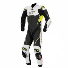 Alpinestars Atem 1 Piece Black White Fluo