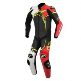 Alpinestars GP Plus Race Suit White Red Yellow