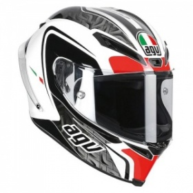 AGV Corsa Circuit White/Black/Red