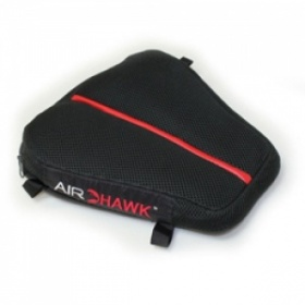 Airhawk Cruiser DS Motorcycle Seat Cushion - Red Stripe