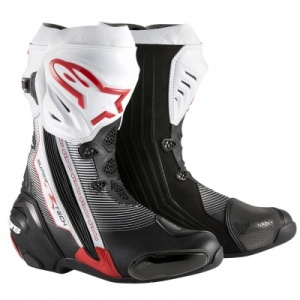 Alpinestars Supertech R Boots Black-White-Red