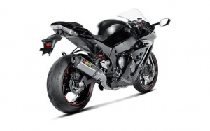 Akrapovic ZX10R  Titanium Slip/On with De-Cat Pipe  2011-15