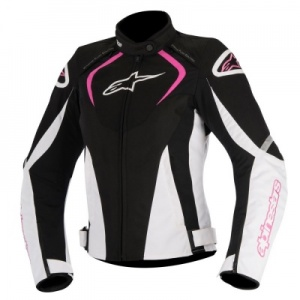 Alpinestars Stella T-Jaws Ladies WP  Jacket Black White Fuchsia
