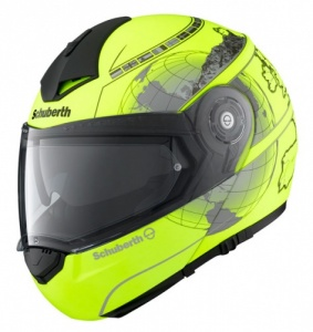 Schuberth C3 PRO Europe Matt Fluo Yellow