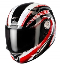 Scorpion EXO 1000 Pipeline Red With Free Black Race Visor !