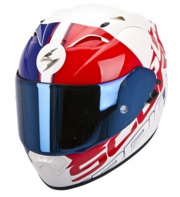 Scorpion EXO-1200 Quarterback Wht-Blue-Red