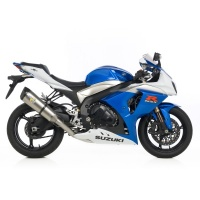 LeoVince Factory R E Approved Slip On Titanium GSXR1000 09/11