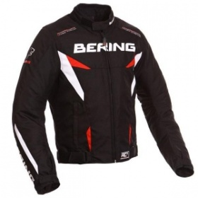 Bering Fizio Textile Jacket - Black/Red
