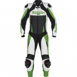 Furygan Full Apex1 Piece - Green - Free Forcefield L2K Back Protector