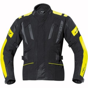 Held 4-Touring Mens Textile Jacket Black Yellow