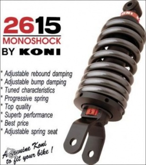 KONI SHOCK To Suit KAWASAKI GPZ 600R