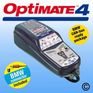 OptiMate 4 BMW Battery Charger-Maintainer