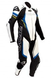 Richa Francorchamps Leather 1 x Piece Race Suit  + Free Forcefield Back Protector
