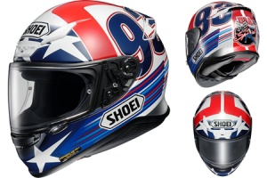 Shoei NXR Marquez Indy Replica TC2
