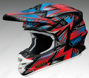Shoei VFX-W Maelstrom TC-1 - Red