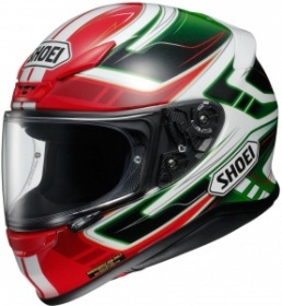 Shoei NXR Valkyrie TC-4 Red/Green