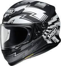 Shoei NXR Variable - TC5 - Black/Silver - FREE Dark Visor