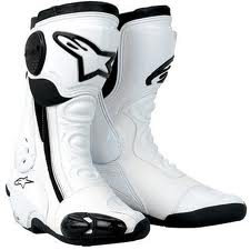 Alpinestars SMX Plus Boots white