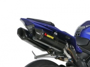 Akrapovic Carbon Silencers Road Legal Yamaha R1 09