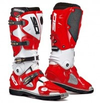 Sidi Crossfire MX Boots Red