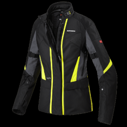 Spidi Traveler 2 Lady - Textile Jacket - Black/Fluo