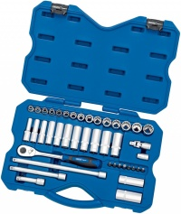 Draper Expert 42 Piece 3/8'' Sq. Dr. Metric 12 Point Draper Expert Multi-Drive® Socket Set