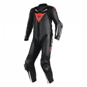 Dainese Laguna Seca D1 Perforated Race Suit - Black&White