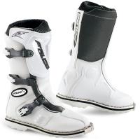 Falco Lion MX2 Kids moto Boots White