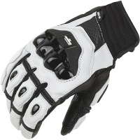 Furygan AFS-16 Gloves - Black&White