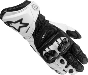 Alpinestars GP Pro Gloves - Black White