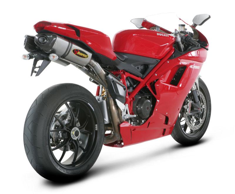 Akrapovic Ducati 1098 / 848 SLIP-ON Silencers Titanium