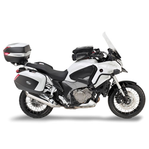 givi plxr1110 honda crosstourer 1200 2012 14 v35 pannier kit module moto. Black Bedroom Furniture Sets. Home Design Ideas
