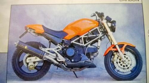 Leo Vince Ducati Monster 600 700 900 93 99 Carbon Slip Ons