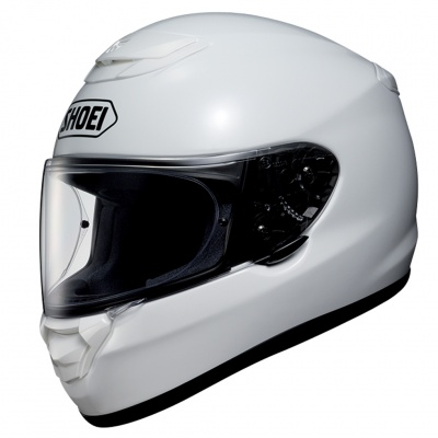 b5ef7fd9 Shoei Qwest Plain White - Module Moto