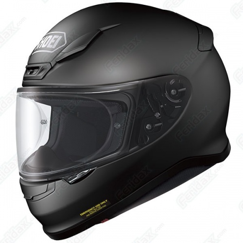 633887fe Shoei NXR Plain Matt Black - Free Dark Visor - Module Moto