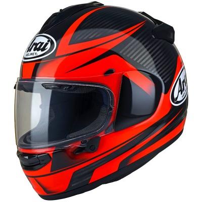 arai chaser x tough red free race visor module moto. Black Bedroom Furniture Sets. Home Design Ideas