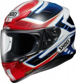 Shoei NXR Valkyrie TC-1 White/Blue/Red -