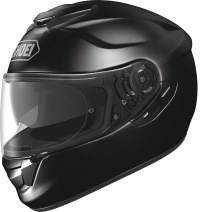 Shoei GT Air Plain Black  - FREE Dark Visor