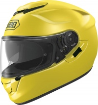 Shoei GT Air Brilliant Yellow  - FREE Dark Visor